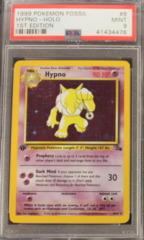 Hypno-Holo 8/62 PSA 9 MINT 1st Edition Fossil