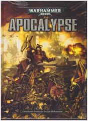 Warhammer 40K APOCALYPSE 6th Edition Rule-book - Hardcover