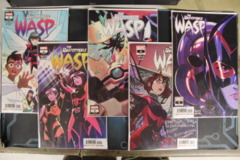 The Unstoppable Wasp - Issues #1A, 2A, 3, 4, 5 (2018)