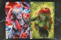 Harley Quinn & Poison Ivy #2b, 2c (2019) Connecting Covers