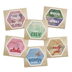 Catan - Accessories Valentines Day cards