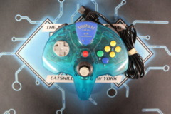 SuperPad 64 Colors Performance for N64 (Aquamarine Opaque)