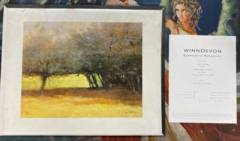 Under the Hedge By Marcus Bohne Signed Art Piece (w/ Certificate of Authenticity)