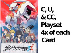 Darling C,U, & CC Playset (4x of each card)