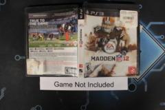 Madden NFL 12 - Case