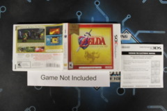 The Legend of Zelda: Ocarina of Time 3D - Case