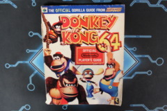 Donkey Kong 64 Nintendo Power Gorrila Guide