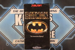 Batman Instruction Manual (Genesis)