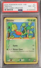 Treecko 1 Kids' WB! Poke Card Creator PSA 8 (B)