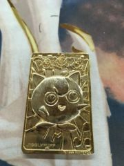 Pokemon 23k Gold Plated Jigglypuff Card