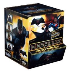 DC HeroClix: Batman vs. Superman Dawn of Justice Movie Gravity Feed Display