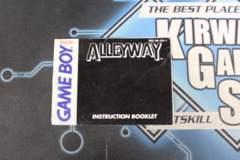 Alleyway Instruction Manual (Game Boy)