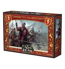 A Song of Ice & Fire: Lannister Halberdiers SIF202