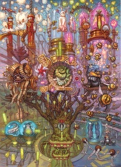 MTG Unstable Contraptions Art Print Set of 5 (Sealed)