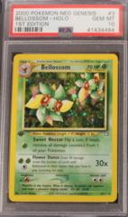 Bellossom-Holo 3/111 PSA 10 GEM MT Neo Genesis