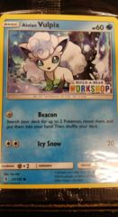 Alolan Vulpix 21/145 Build-A-Bear Workshop Promo