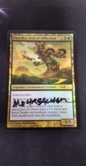 Foil Pharika, God of Affliction Artist Signed