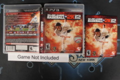 Major League Baseball 2K12 - Case