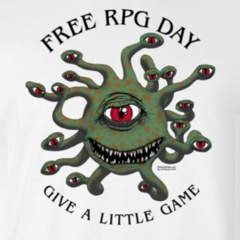 Free RPG Day 2018 T-Shirt