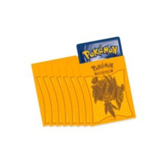 Pokemon ETB Yellow Tapu Koko Sleeves 65 Count