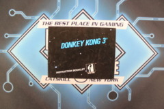 Donkey Kong 3 Manual