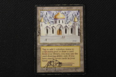 Library of Alexandria - Signed and Altered by Artist Mark Poole