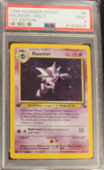 Haunter-Holo 6/62 PSA 9 MINT 1st Edition