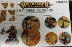 40mm & 65mm Round Bases Shattered Dominion