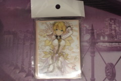 Fate Grand Order Red Saber Bride Sleeves New BUT Opened 60 Count