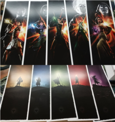 MTG magic Origins Planeswalker Banner Full Set