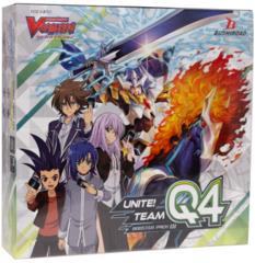 Cardfight!! Vanguard: V Booster  - Unite! Team Q4 - Booster Box