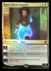 Kaya, Ghost Assassin - Alternate Art Foil