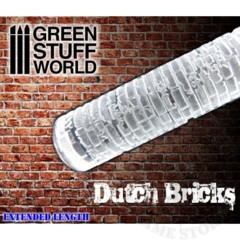 Rolling Pin Dutch Bricks (1336)