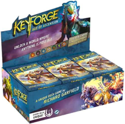 Keyforge - Age of Ascension Archon Deck Display