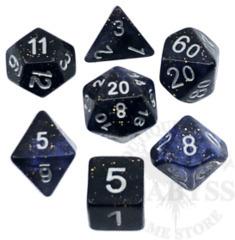 7 Polyhedral Abyss Dice Set Illuminati - AD037