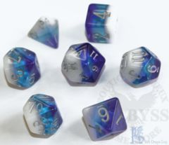 7 Polyhedral LD Birthday Dice Set June Pearl - LD-BDPEA3