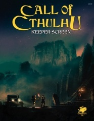 Call of Cthulhu 7th - Keeper Screen Pack