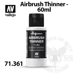 Vallejo Airbrush Thinner 60ml - Val71261