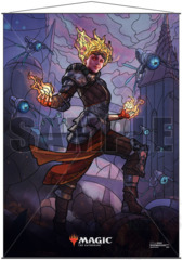Ultra Pro Wall Scroll MTG Stained Glass Chandra (18169)