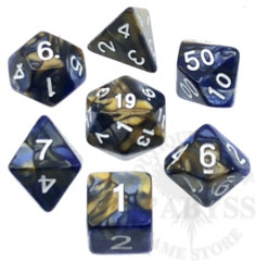 7 Polyhedral Abyss Dice Set Ceres - AD053