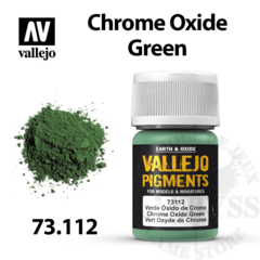 Vallejo Pigments - Chrome Oxide Green 35ml - Val73112