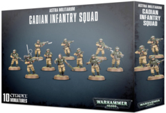 Astra Militarum Cadian Infantry Squad (Shock Troop)  ( 47-17 )