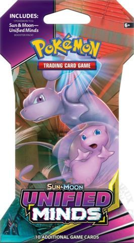 Sun & Moon - Unified Minds Sleeved Booster Pack