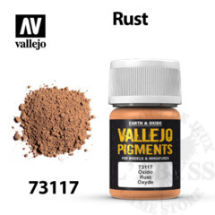 Vallejo Pigments - Rust 35ml - Val73117