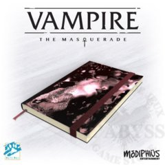 Vampire the Masquerade Official Notebook