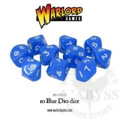 10 D10 Warlord Games Blue (WG-D10-31)