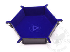 Die Hard Folding Hex Tray w/ Blue Velvet