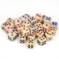 36 D6 Festive 12mm Dice Circus w/black - CHX27842