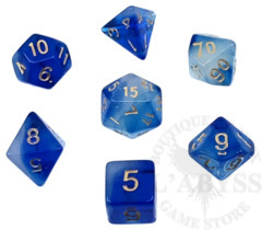 7 Polyhedral Dice Set Abyssal - AD001