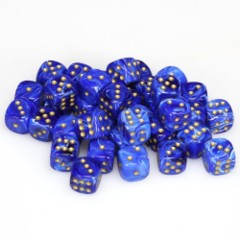 36 D6 Vortex 12mm Dice Blue - CHX27836